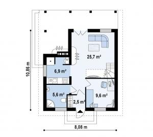 Жилой дом Д-016