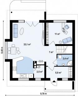 Жилой дом Д-012