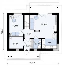 Жилой дом Д-020